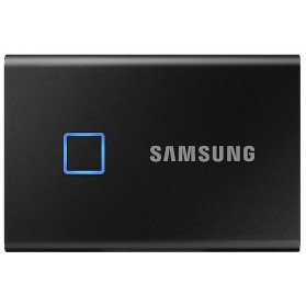Dysk zewnętrzny Samsung USB 3.2 Portable SSD T7 Touch 500GB czarny - MU-PC500K/WW