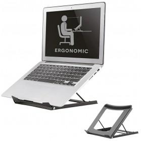 Neomounts Foldable laptop and tablet stand, Black - NSLS075BLACK