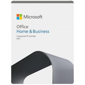 Oprogramowanie biurowe Microsoft Office 2021 Home & Business BOX ENG P8 Win, Mac - T5D-03511 - zdjęcie 1