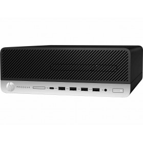 Komputer HP ProDesk 600 G5 7AC39EA - SFF, i7-9700, RAM 8GB, SSD 256GB, DVD, Windows 10 Pro, 3 lata On-Site - zdjęcie 5