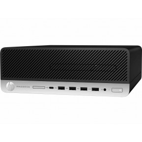 Komputer HP ProDesk 600 G5 7AC42EA - SFF, i3-9100, RAM 8GB, SSD 256GB, DVD, Windows 10 Pro, 3 lata On-Site - zdjęcie 5