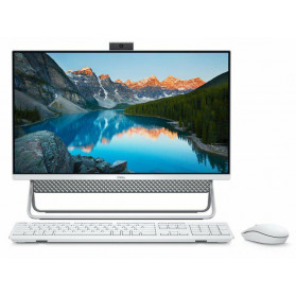 "Komputer All-in-One Dell Inspiron 5490 5490-4088 - i5-10210U, 23,8"" FHD, RAM 8GB, 256GB + 1TB, GF MX110, Srebrny, WiFi, Windows 10 Home - zdjęcie 5"