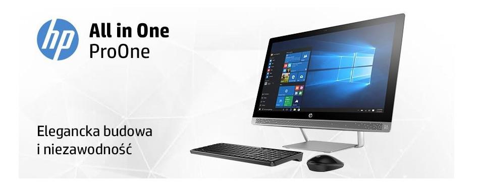 Komputery AiO HP ProOne