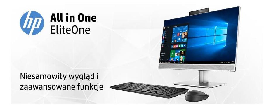 Komputery AiO HP EliteOne