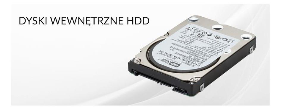 Dyski wewnętrzne HDD