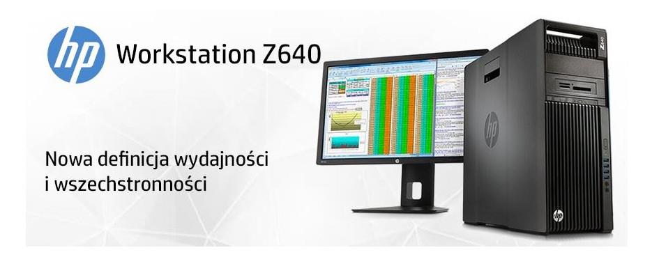 Stacje robocze HP Workstation Z640