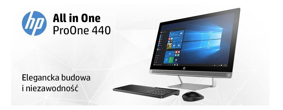 Komputery AiO HP ProOne 440