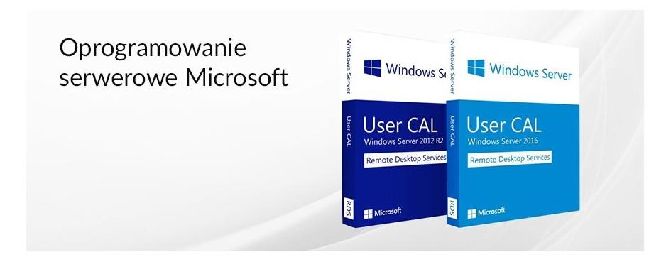 Oprogramowanie serwerowe Microsoft