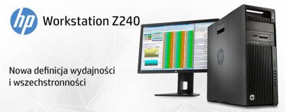 Stacje robocze HP Z240 Workstation
