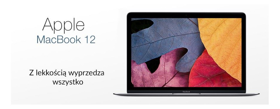 Laptopy Apple MacBook 12