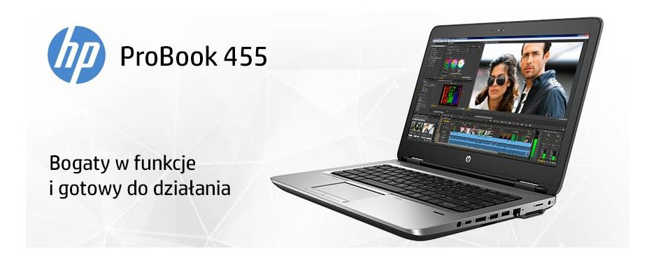 Notebooki HP ProBook 455