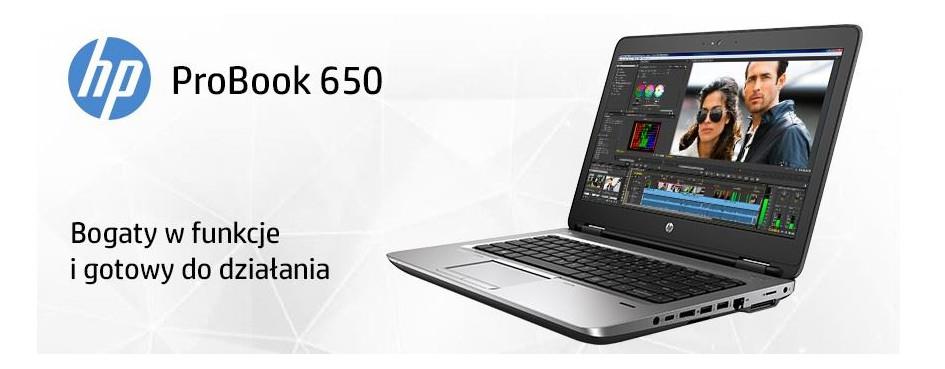 Laptopy HP ProBook 650