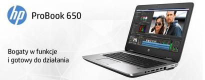 Notebooki HP ProBook 650