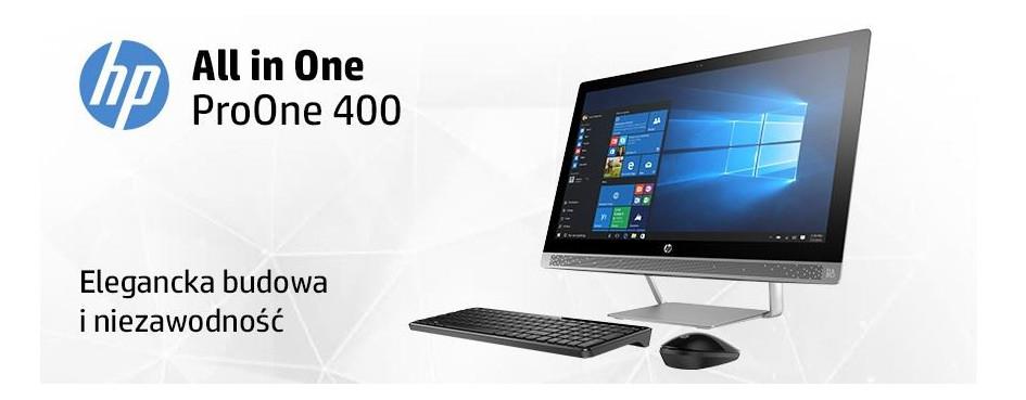Komputery AiO HP ProOne 400