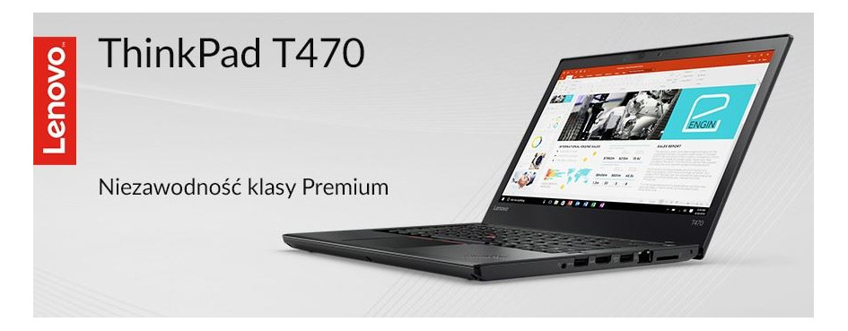 Laptopy Lenovo ThinkPad T470
