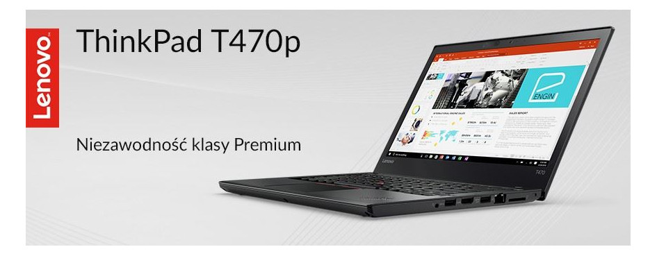 Laptopy Lenovo ThinkPad T470p