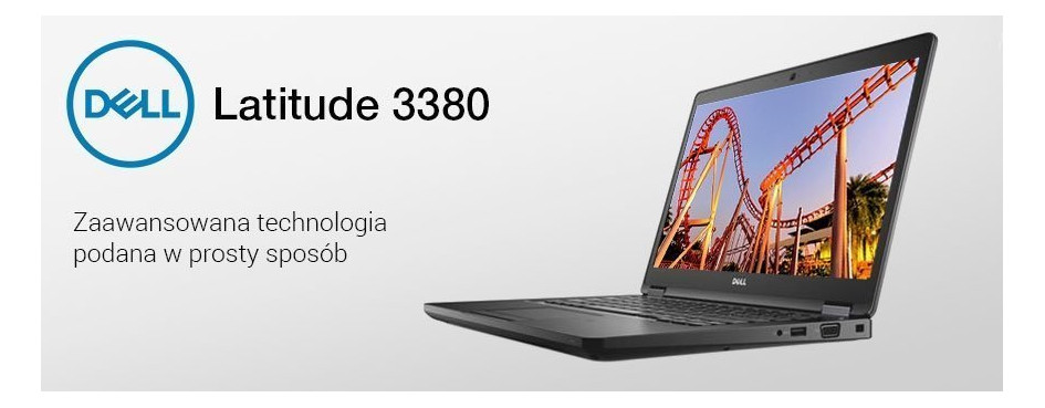 Laptopy Dell Latitude 3380
