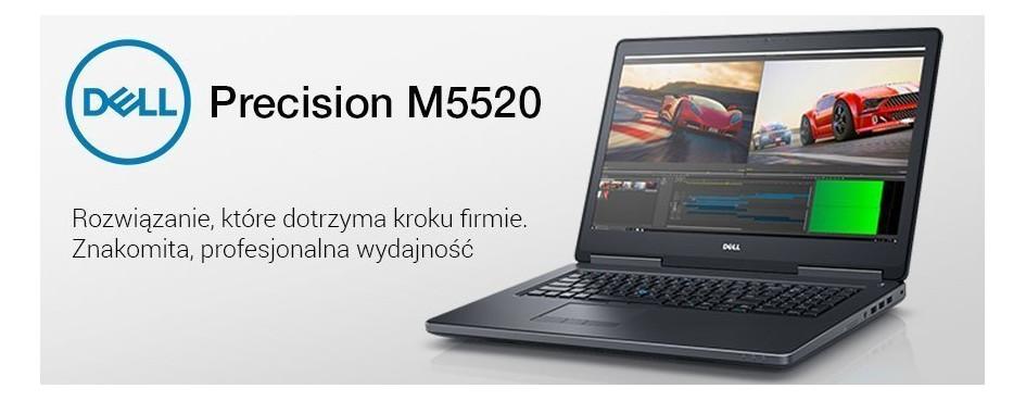 Notebooki Dell Precision M5520