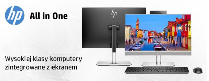 Komputery AiO HP