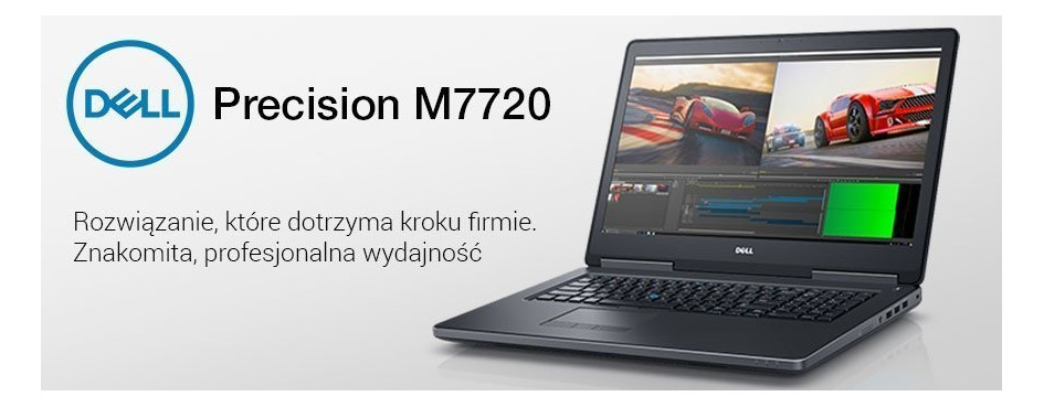 Laptopy Dell Precision 7720