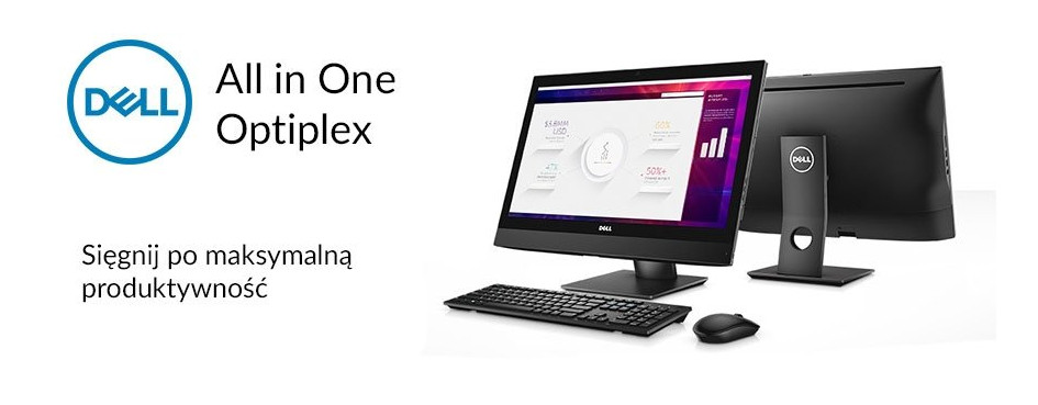 Komputery AiO Dell Optiplex