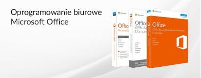 Oprogramowanie biurowe Microsoft Office