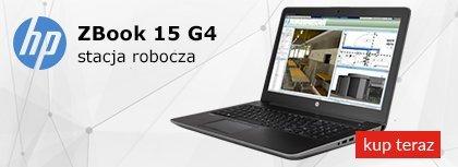 ZBook 15 G4 stacja robocza