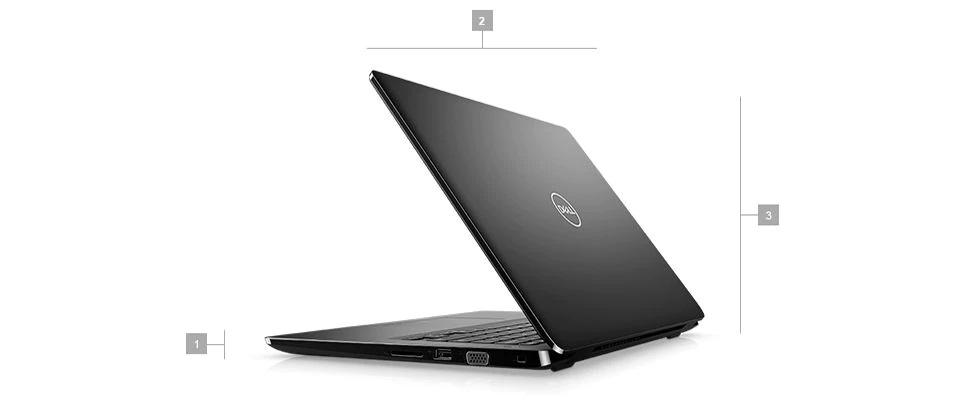 Wymiary i waga w serii laptopów Dell Latitude 3400
