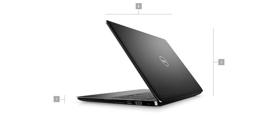 Wymiary i waga laptopów Dell Latitude 3500