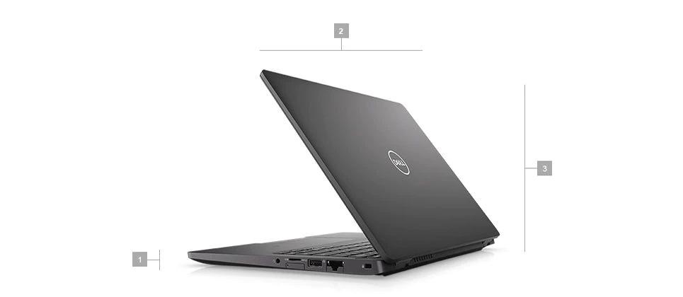 Wymiary i waga laptopów biznesowych Dell Latitude 5300