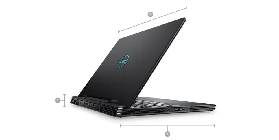 Wymiary i waga laptopów Dell Inspiron G5 5590