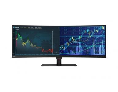 Lenovo ThinkVision P44w - 43.4 cali powierzchni roboczej w biznesowym monitorze