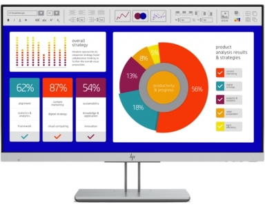 Monitor HP EliteDisplay E243p 5FT13AA - monitor z wbudowanym filtrem prywatyzacyjnym HP Sure View
